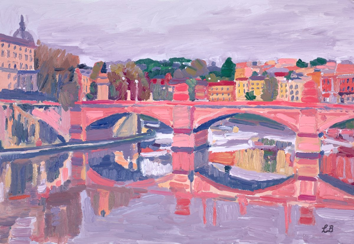 Memories of Rome by leila barton -  sized 26x18 inches. Available from Whitewall Galleries